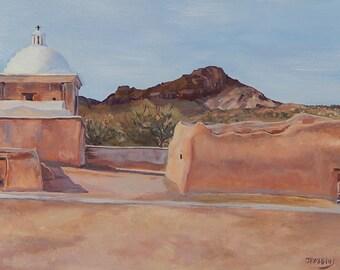 Old Spanish Mission (Tumacacori) AZ