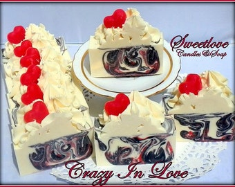 Crazy In Love Luxury Shea Butter Soap-Valentine