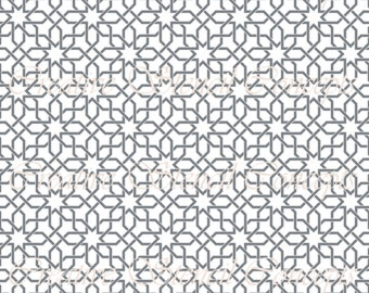 Mosaic Star Moroccan Lattice Decorative Stencil MULTIPLE SIZES AVAILABLE on Industry Standard 12 Mil Mylar Design 128450957