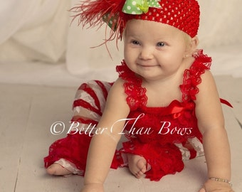 Embellish Your Own Red Petti Romper-Birthday Girl Petti Lace Romper-Cake Smash-Christmas-Valentines Da-4th of July