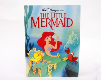 The Little Mermaid Book Tablet Cover Case- (iPad / iPad Air / Kindle Fire 8.9 / Nexus 10 / Samsung 10.1 / Hardcover / Book)