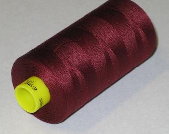 Sewing Thread, Wine #369 Gutermann Superior Sewing Thread on 1094 Yard Spool