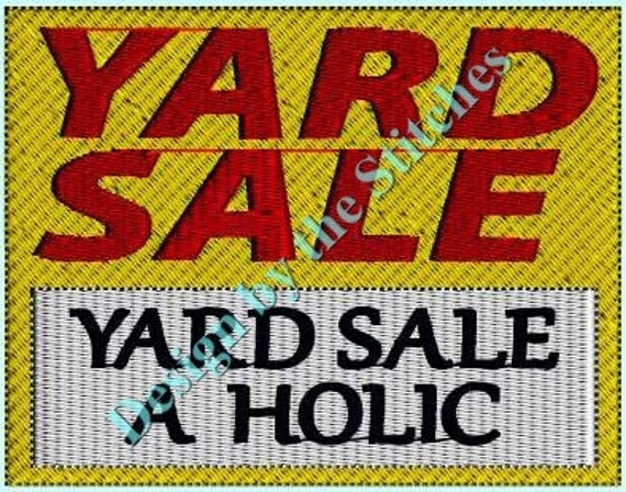 Design Sponge Yard Sale: Items Similar To Yard Sale Yard Sign INSTANT DOWNLOAD