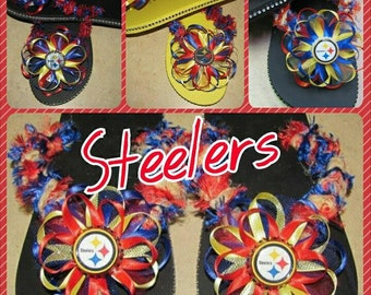 Steelers Flip Flops - This listings is for 1 pair only