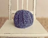 Blue Newborn Beanie, Baby Beanie, Blue Beanie, Newborn Hat, Blue, Crochet Beanie, Baby Boy Beanie, Blue Baby Hat