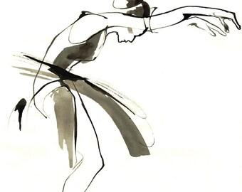 Dance Drawing Print IV