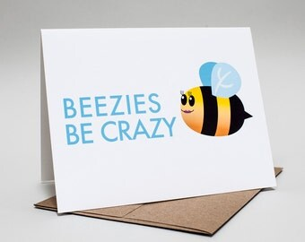 Relationship: Beezies Be Crazy Card