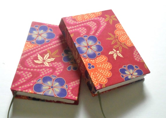 Pink Floral Chiyogami Journal