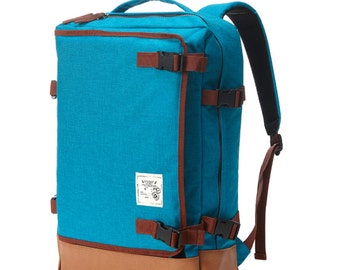 Multipocket Backpack (Turquoise)
