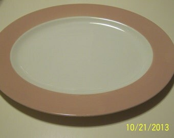 Homer Laughlin Cavalier Eggshell Platter