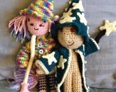 Halloween - Witch.Wizard.Warlock. outfit for dress-up doll