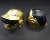 Daft Punk Helmets Gold/Black
