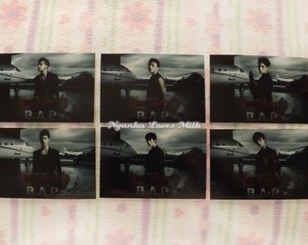 Set of 6 B.A.P One Shot Photo Prints