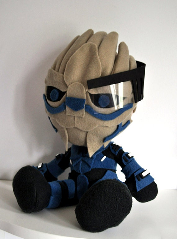 Mass Effect Garrus Vakarian Plush Doll - Reserved for Nick
