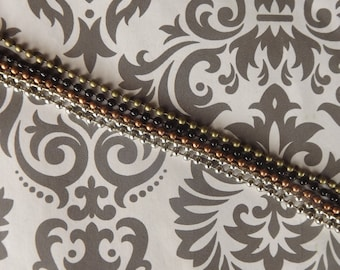 12 24 inch ball chains necklace multicolored you choose the color