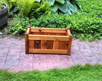 """Cedar Planter Box (10"""" x 20"""" rectangle)"""
