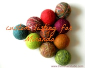 practical Christmas gifts, über cool WOOL DRYER BALLS, eco friendly stocking stuffer, gifts under 25, free shipping, makes a great gift