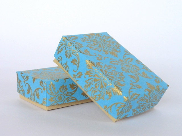 Damask Wedding Favor Boxes : Damask jewelry packaging boxes wedding favor box
