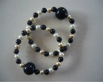 "Queasy Beads Motion Sickness Bracelets in ""Midnight Dream"""
