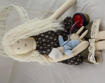 FairHaired Childbirth Education Doll Set