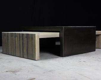 bento nesting coffee tables - large set