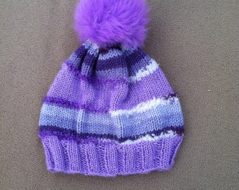 Lavender youth Hat