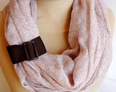 SALE, Beige Infinity Scarf, Long Summer Scarf, Beige Color, spring summer  scarf, very soft  scarf,fashion  scarf,