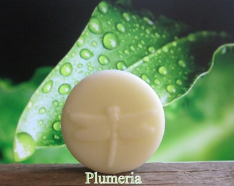 Plumeria Organic Solid Lotion Bar 100% Natural Pocket Size 2 oz.