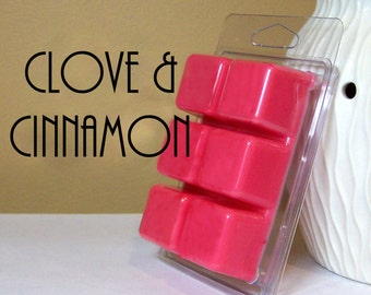Clove and Cinnamon Scented Wax Melts