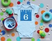 Baby boy first year belly sticker printables