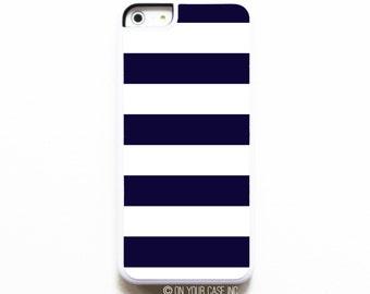iPhone 5C Case. Nautical Navy Stripe. iPhone Case Cover. Case for iPhone 5C. Phone Case. iPhone 5C Cases. iPhone Case. 5C Case.