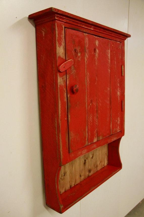 Primitive Medicine Cabinetbathroomprimitive Wall Cabinet