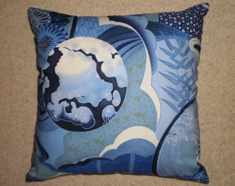 Japanese style cushion cover 45cm X 45cm 100% cotton hand made