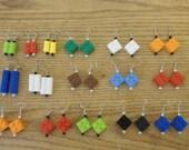 Legos Dangle Earrings