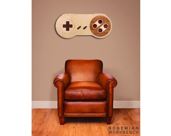 16-bit Retro Gaming Wall Art - Maple