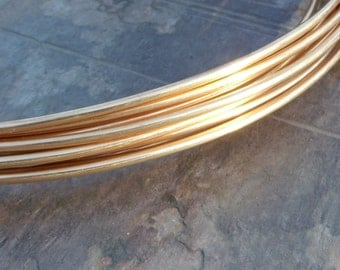 10 gauge Solid Bronze Wire - by the foot