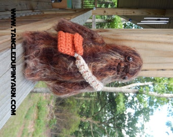 Chewbacca Amigurumi Doll with removable bag