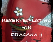 Reserved Listing for Dragana