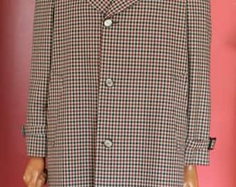 vintage men's rain top coat by rainfair