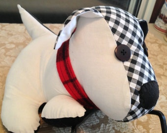 DOG LOVER'S Cuddly Cute Scottie Dogs - Artisan Hand-Crafted