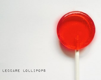 6 Lollipops  Luscious  Red Raspberry // Unique Wedding Favors // Fall Wedding Favors // Made to Order