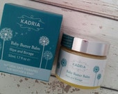 Baby Butter Balm with Illipe and Borage- suitable for sensitive,dry, irritated skin conditions