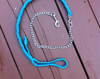 Bullhide super soft leash with chain