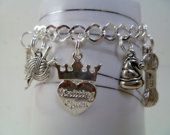 The Knitting Queen Bracelet