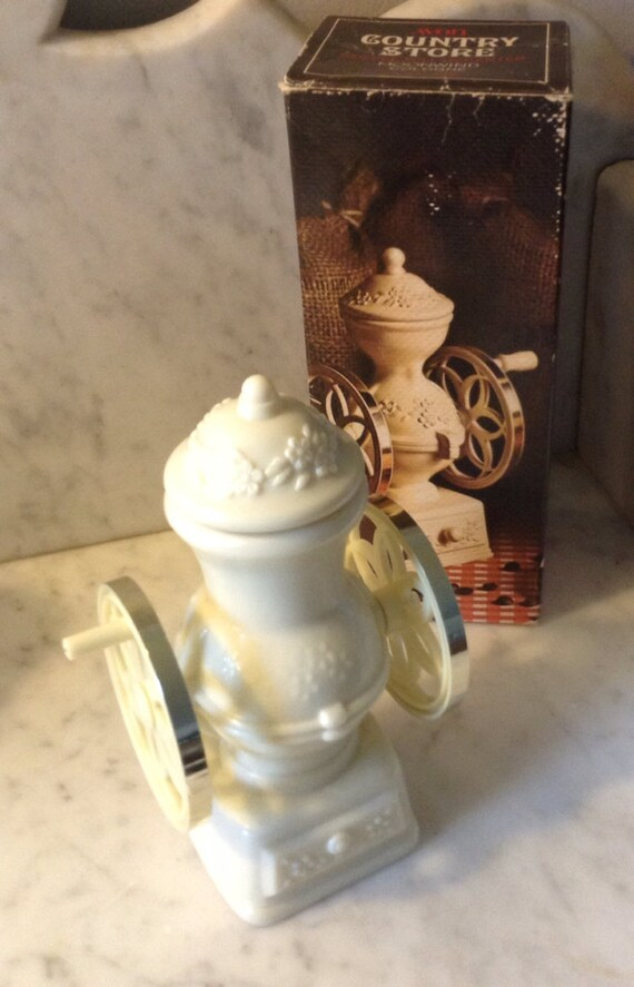 Vintage Avon Coffee Mill Decanter