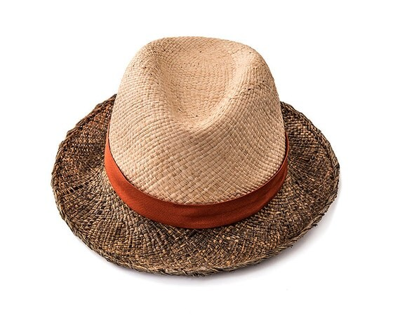 items similar to fedora straw hat womens summer hats jr