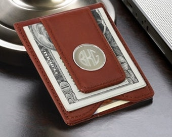 Husband Gift for Husband Boyfriend Gift Teen Boy Brother Gift Mens Wallet Personalized  Money Clip Mens Gift Grandpa Gift Father Gift