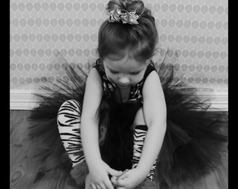 Black Tutu Skirt, Toddler Tutus, Birthday Tutu Skirt