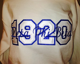 Greek Founding Year Crewneck Sweatshirts