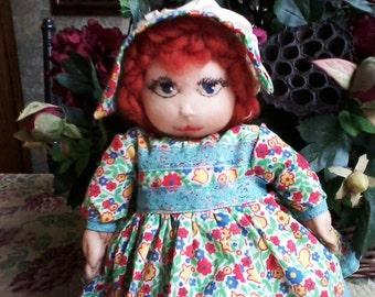 SALE OOAK Stocking Doll